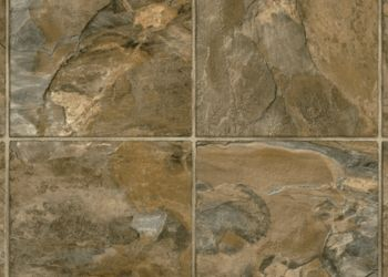 Stony Hill Vinyl Sheet - Italian Earth