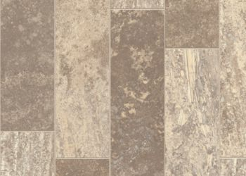 Aragon Travertine Vinyl Sheet - Beach Cove