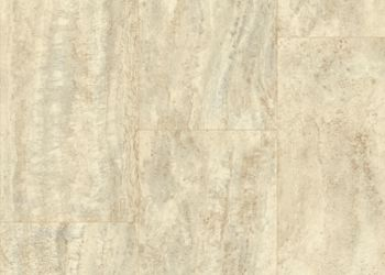 Vessa Travertine Vinyl Sheet - Husky Street
