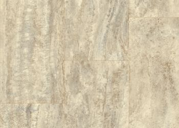 Vessa Travertine Vinyl Sheet - Malted Emblem