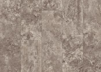 Turan Travertine Vinyl Sheet - Burnt Debonair