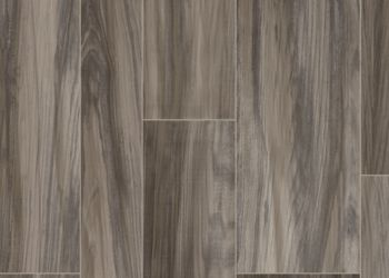 Ridge Plank Vinyl Sheet - Smoke