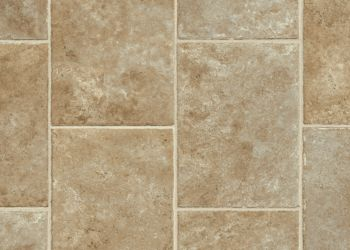 Bedrock Ridge Vinyl Sheet - Brown Sugar