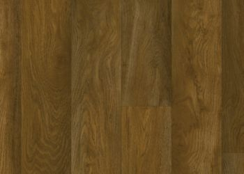 Chickasaw Oak Feuille de vinyle - Cocoa Brown