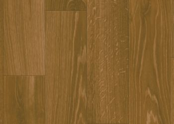 Covington Oak Vinyl Sheet - Gunstock