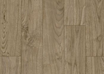 Warrington Walnut Vinyl Sheet - Mulberry Grey