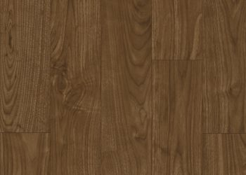 Warrington Walnut Vinyl Sheet - Red Bourbon