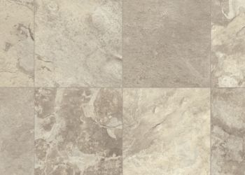 Evendale Slate Vinyl Sheet - Snow Gold