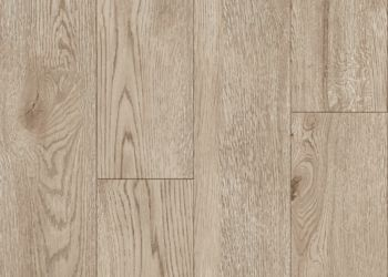 Crafted Oak Carreau de vinyle de luxe - Parchment