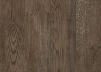 Crafted Oak Luxury Vinyl Tile - Smokehouse Brown