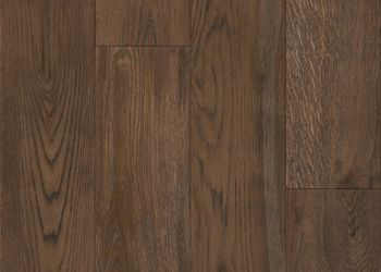 Crafted Oak Carreau de vinyle de luxe - Crimson Earth
