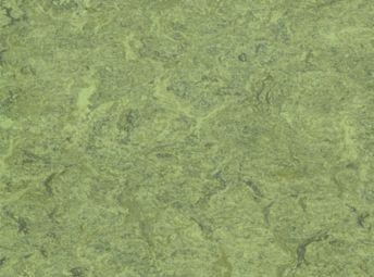 LinoArt Marmorette Sheet Parrot Green
