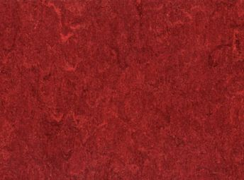 LinoArt Marmorette Sheet Cherry Red