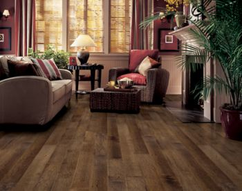 Maple Hardwood Flooring Dark Brown Er7565 By Bruce Flooring