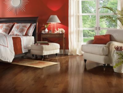 Hickory Hardwood Flooring Brown C0788 By Bruce Flooring