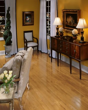 Oak Hardwood Flooring Dark Brown C134 by Bruce Flooring