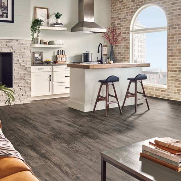 Lakehouse Hickory Greige Twist K1000 Armstrong Flooring Commercial