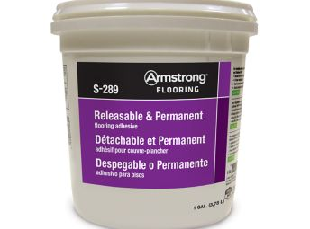 Armstrong S-289 Releasable & Permanent Adhesive