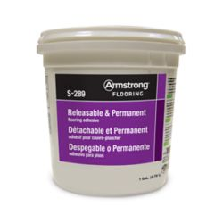S-289 Armstrong S-289 Releasable & Permanent Adhesive