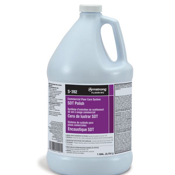 Armstrong S 392 Static Dissipative Tile Polish S 392 Armstrong