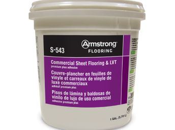 Armstrong S-543 Commercial Sheet Flooring & LVT Adhesive