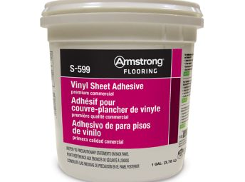Armstrong S-599 Vinyl Sheet Adhesive Premium Commercial