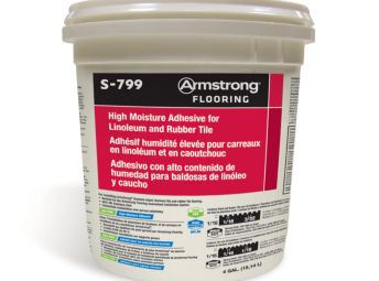 Armstrong High Moisture Adhesive For Linoleum And Rubber Tile