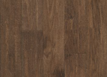 Oak Solid Hardwood - Otter Brown