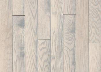 Oak Solid Hardwood - Statement White