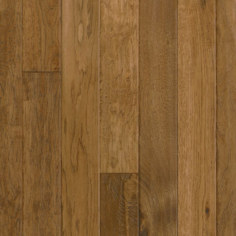 Hickory Solid Hardwood Gold Rush