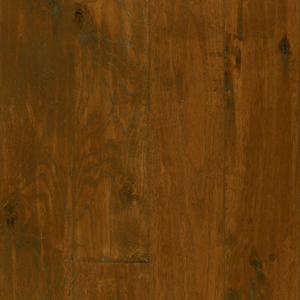 Armstrong American Scrape Hardwood Hickory - Candy Apple Hardwood Flooring - 3/4