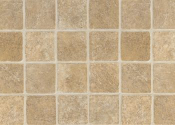 French Paver Feuille de vinyle - Tan