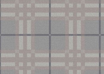 Plaid to Meet You Vinyl Sheet - Greige