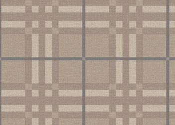Plaid to Meet You Vinyl Sheet - Gentle Beige