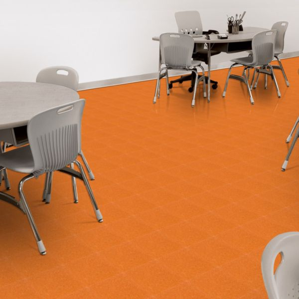 Brilliant Orange 54820 Armstrong Flooring Commercial