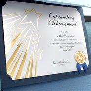 volunteer certificate titles and verses