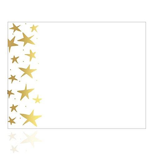 foil stamped certificate paper gold starfish at baudville com