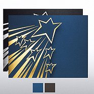 Shooting Star Gatefold Certificate Folder