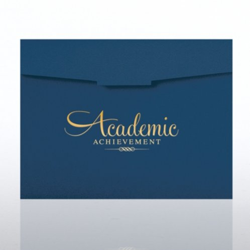 Foil-Stamped Certificate Folder - Academic Achievement