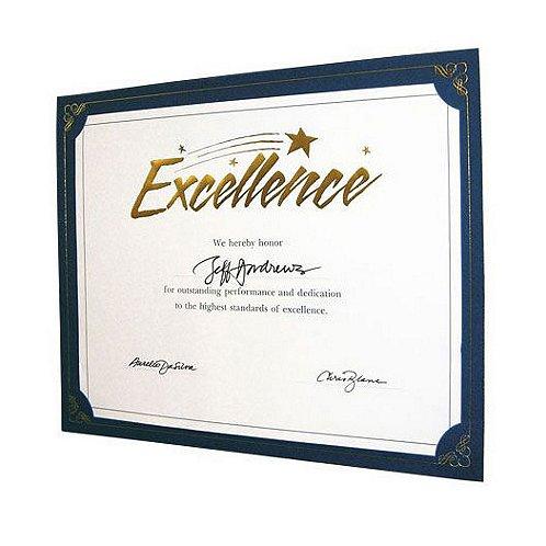 Praise Displays - Blue - Gold Foil