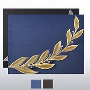 Foil-Stamped Embossed Certificate Folder - Elite Laurel