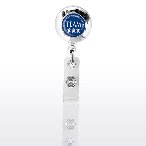 Themed Badge Reel - Chrome - Team