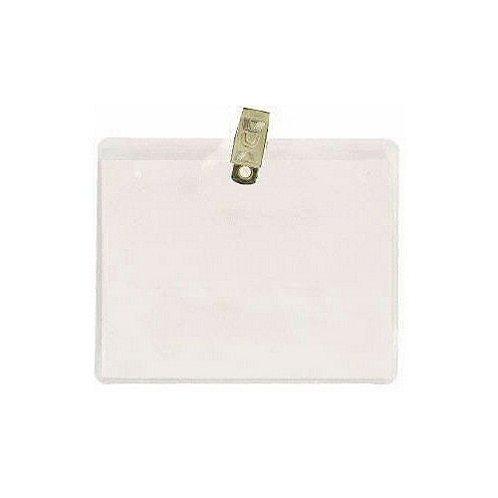 Badge Holder - 4 x 3 Horizontal - Clip