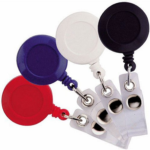 Badge Reel - Round Solid Color Variety Pack
