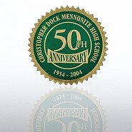 Custom Anniversary Seal - Serrated