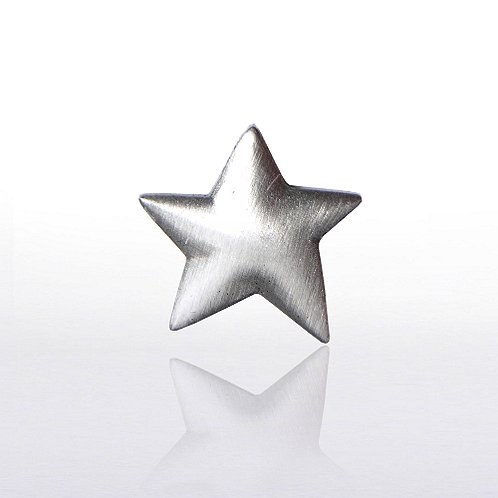 Lapel Pin - Silver Star