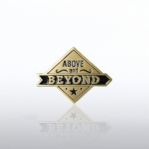 Lapel Pin Above & Beyond Diamond