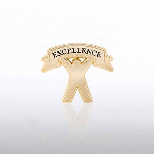 Lapel Pin - Excellence Banner