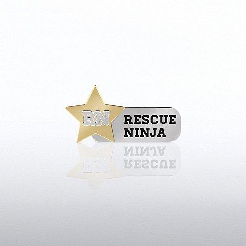 Lapel Pin - RN - Rescue Ninja