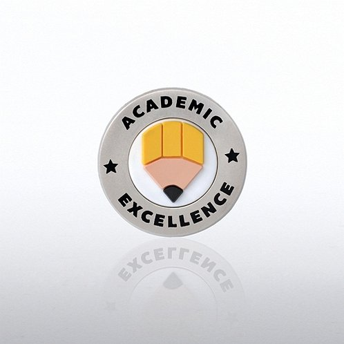 PVC Lapel Pin - Academic Excellence